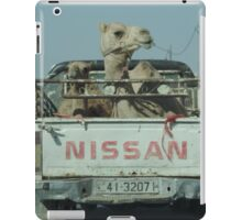 Camels and Pickups iPad Case/Skin