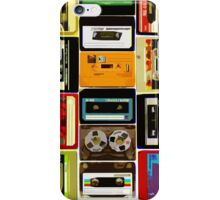 Old School Cassette Tapes iPhone Case/Skin