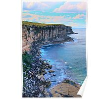 """Awe Revisited"" - North Head - Sydney Harbour National Park - The HDR Series, Sydney Australia Poster"