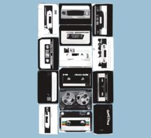 Retro Cassette Tapes by ColaBoy