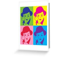 Murder, She Wrote Sticker Greeting Card