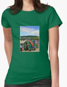 Fishing Nets on The Cobb Womens Fitted T-Shirt