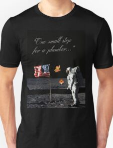 Goombas on the Moon (with text) T-Shirt