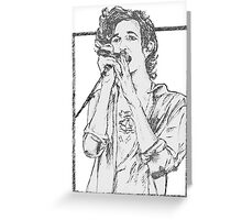 Matt Healy The 1975 Greeting Card