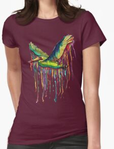 TAKING FLIGHT Womens Fitted T-Shirt