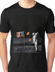 Goombas on the Moon  Unisex T-Shirt