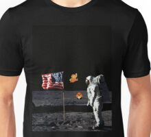 Goombas on the Moon  Unisex T-Shirt