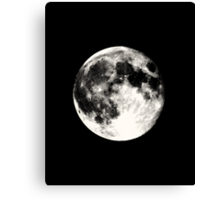 Dark Moon Canvas Print
