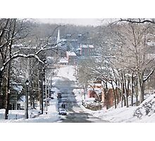 Winter in Galena Photographic Print