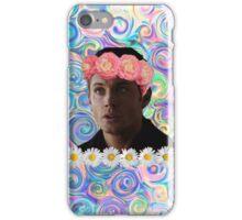 Flower Crown Dean Winchester iPhone Case/Skin