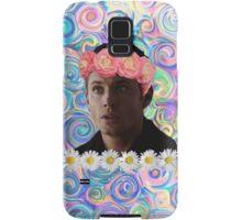 Flower Crown Dean Winchester Samsung Galaxy Case/Skin