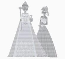 Elsa and Anna ASCII Kids Clothes