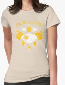 Made in the USA tattoo design Hope Womens Fitted T-Shirt