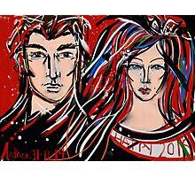 Happy 2015 My Friends - Mr & Mrs Poldark Photographic Print