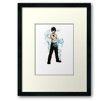 Ice Master! Framed Print