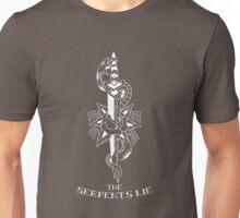 The Serpent's Lie tattoo design Unisex T-Shirt