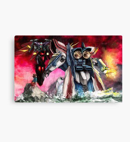 Gundam Fight! Canvas Print