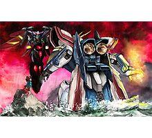 Gundam Fight! Photographic Print