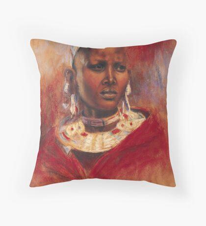 Nata - Ngorongoro Throw Pillow