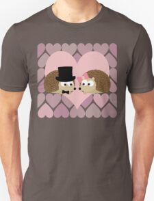 Hedgehogs and Hearts Unisex T-Shirt