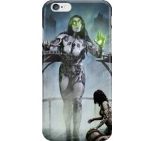 Cyberpunk Painting 042 iPhone Case/Skin