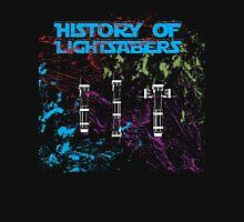 History of Lightsabers T-Shirt