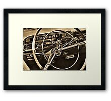 You Are Driving Framed Print