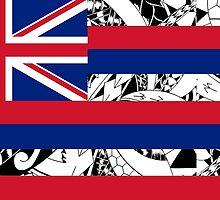 Polynesian Tribal - Flag of Hawaii by yoshi77