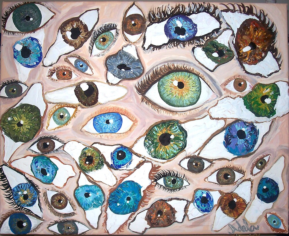 """""""Eyes"""" by Adela Camille Sutton"""