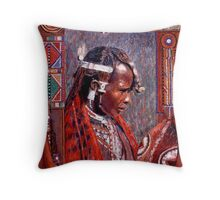 Ole Patei - Keeper of Tradition Throw Pillow