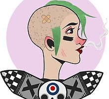 Tank Girl by theallegra
