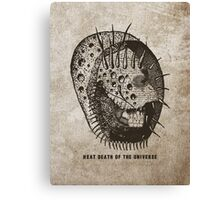 heat death of the universe Canvas Print