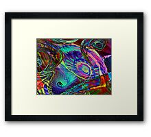 Three Layer abstract 110816 Framed Print