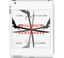 Bellarion the Fortunate, a motion picture from the mind behind Captain Blood and Scaramouche iPad Case/Skin