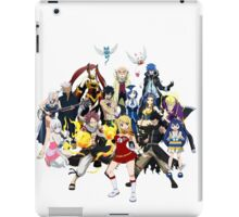 The whole gang iPad Case/Skin
