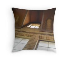 Water stain creatures Throw Pillow