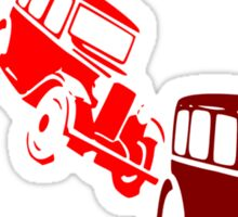 Vintage cars Sticker
