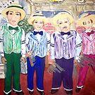 """The Dapper Dans"" by Adela Camille Sutton"