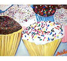 """Cupcakes With Sprinkles"" Photographic Print"