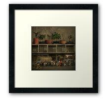 Half a life waiting Framed Print