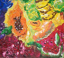 """Funky Fruit Fiesta"" by Adela Camille Sutton"