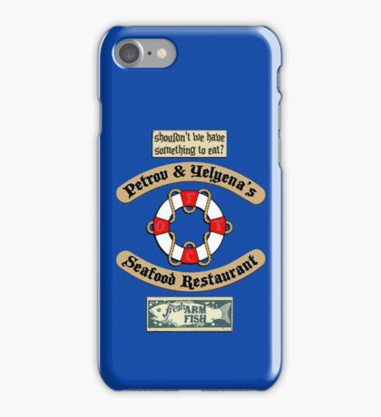 Lost But Happy At Sea iPhone Case/Skin