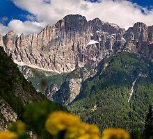 Monte Civetta by Krys Bailey