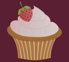 Strawberry Chocolate Cupcake by trennea