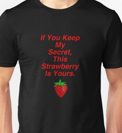 L's Strawberry Quote Unisex T-Shirt