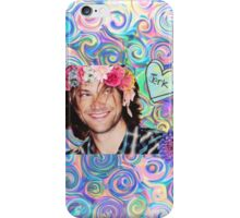 Flower Crown Sam Winchester iPhone Case/Skin