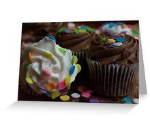 CHOCOLATE AND VANILLA Greeting Card