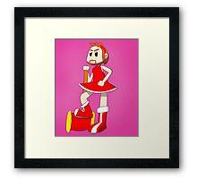 Pat Rose - Super Best Friends Framed Print