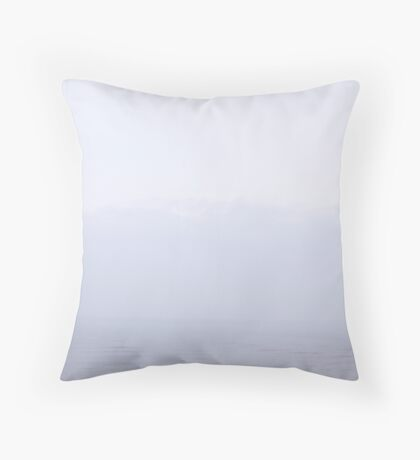North Sea - In Mist - ( East Coast - England ) Throw Pillow