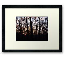 From Dark to Light Framed Print